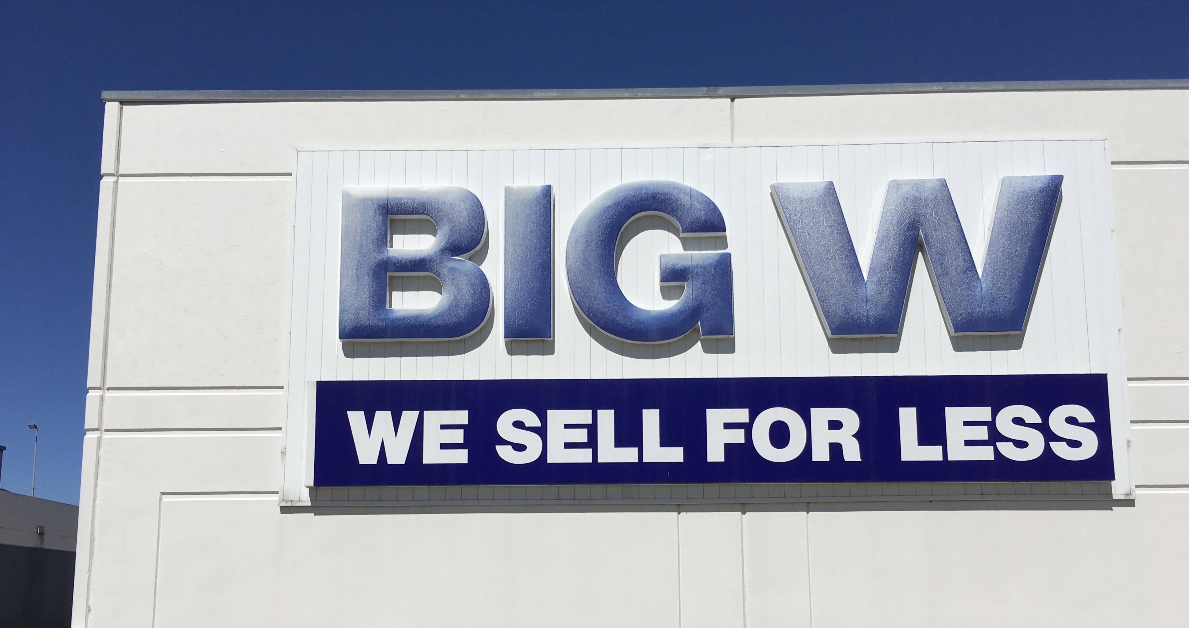 Big W – hugest bookstore